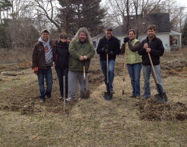 Community Gardening in Cornerstone VIllage