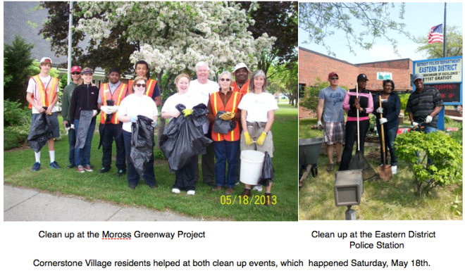 Clean up events - Saturday, May 18th