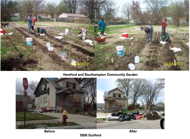 Motor City Makeover was a Success!