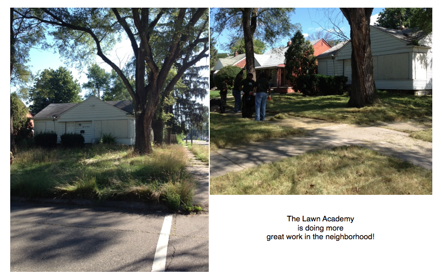 The Lawn Academy is Doing More Great Work!