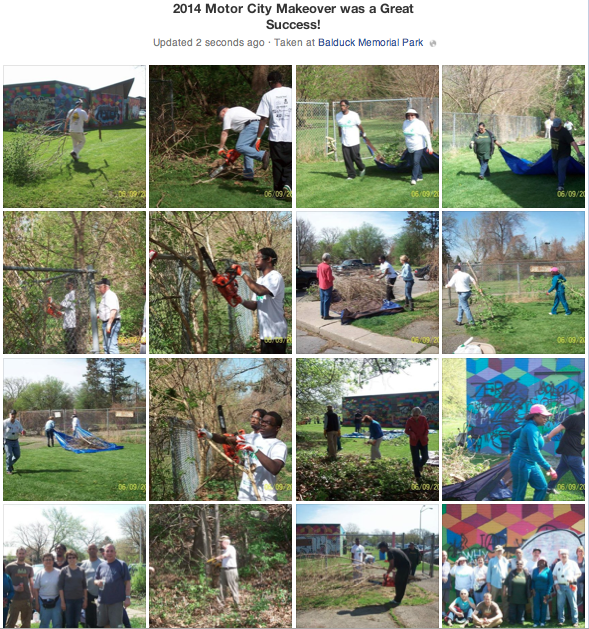 The 2014 Motor City Makeover was a Great Success!