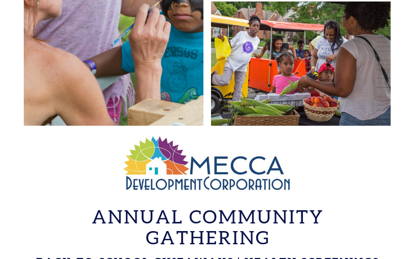 MECCA's Annual Event